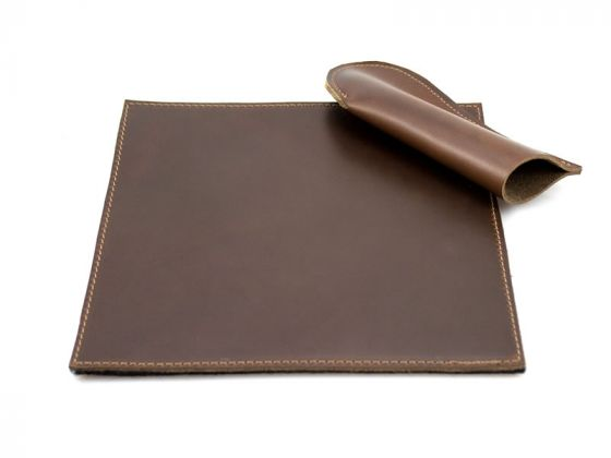 Handcrafted Leather Trivet and Pot Handle Cover
