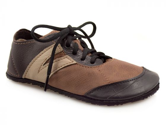 Youth Primal RunAmoc Shoe - Brown