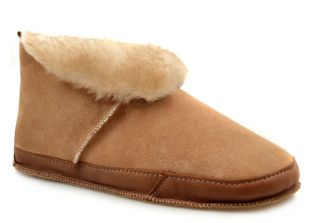 Fireside Slipper in Stonytip Sheepskin