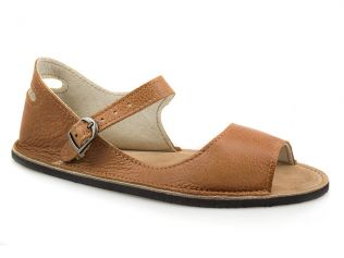 Handcrafted Leather Minimalist Sandals Rolled