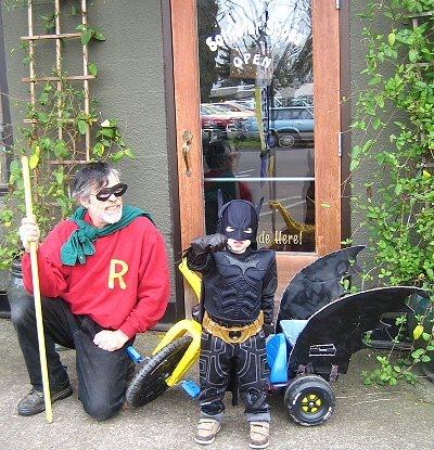 Batman Visits the Elves