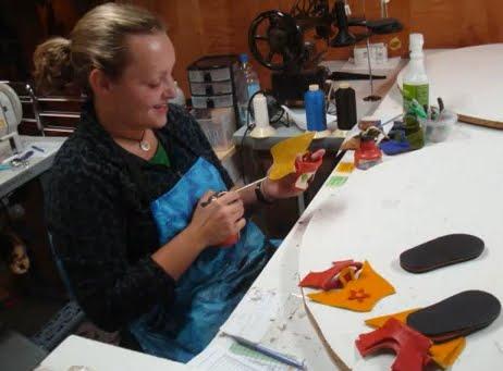 soft-star-seamstress-making-shoes