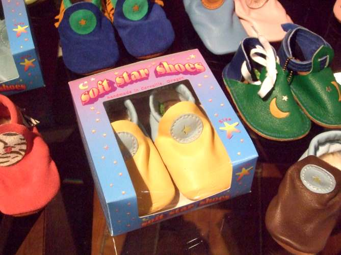 Baby Moccasin Gift Box from Soft Star Shoes