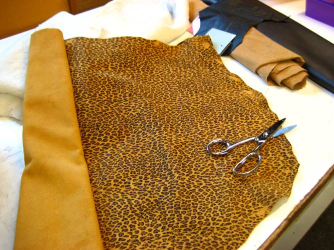 Baby Leopard-Print Leather