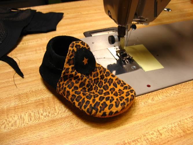 Leopard Animal Print Moccasin