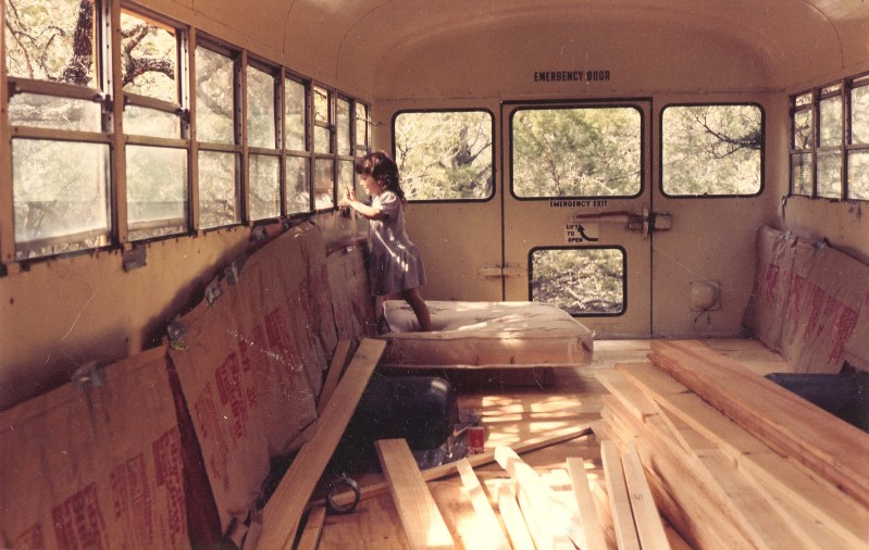 Inside Soft Star School Bus Workshop