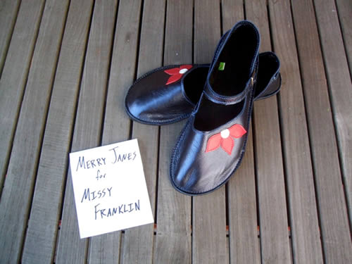 Softstar Shoes for Missy Franklin