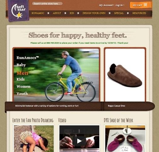 New Soft Star Website