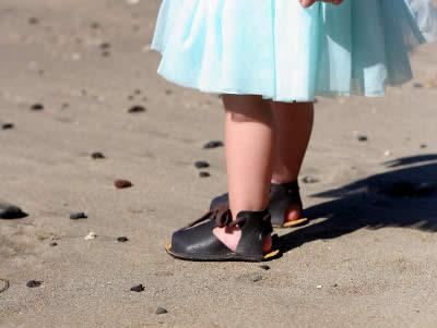 How fast do children's feet grow?