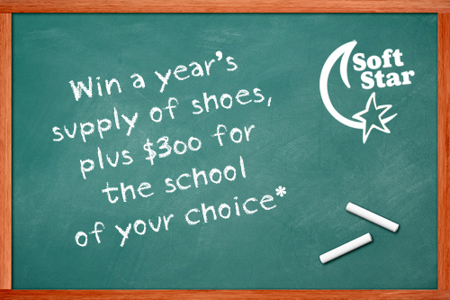 Enter the Soft Star Shoes Back-to-School Sweepstakes!