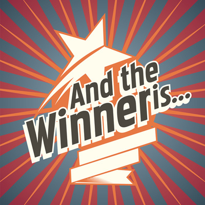 We Have a Sweepstakes Winner! And More to Come...