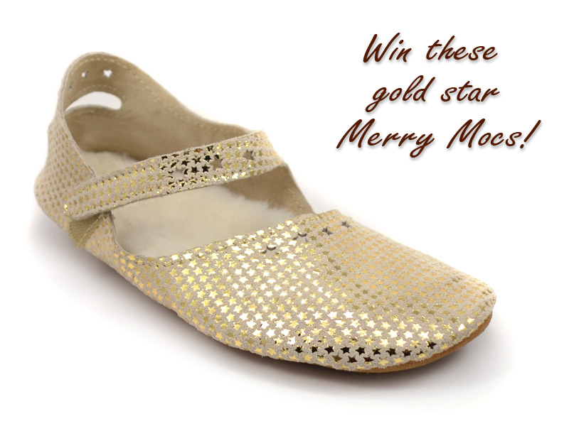 Win these Merry Mocs from Soft Star Shoes!