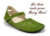 GIVEAWAY! One-of-a-Kind Green Merry Mocs