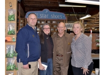 Congressman Peter DeFazio Delivers UPS to Soft Star Shoes