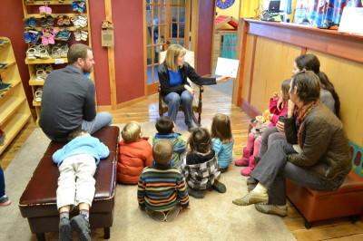 Preschoolers See Elves at Work