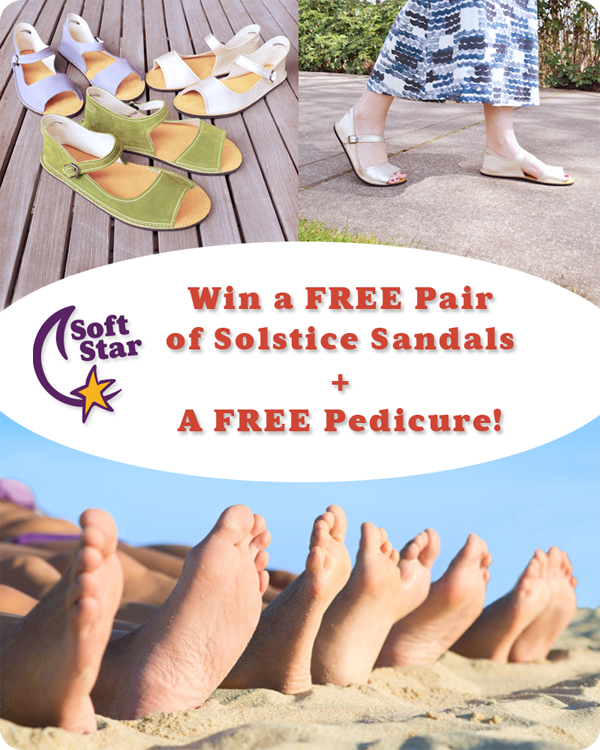SPRING GIVEAWAY! Win a Free Pair of Solstice Sandals plus a Free Pedicure