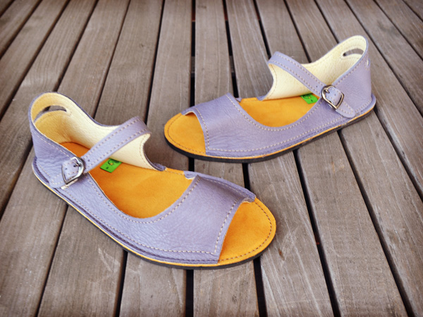 Winner of the Soft Star Shoes Sandal Giveaway