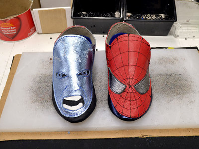 Amazing Spiderman Shoes!