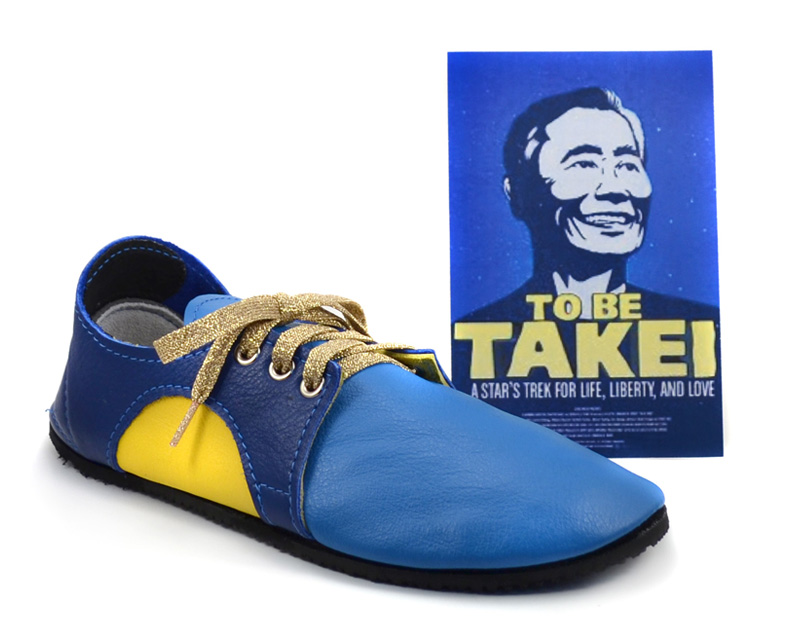 OH MYYY... George Takei Fan Shoes from Soft Star Elves