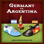 2014 World Cup Shoes: Germany vs. Argentina