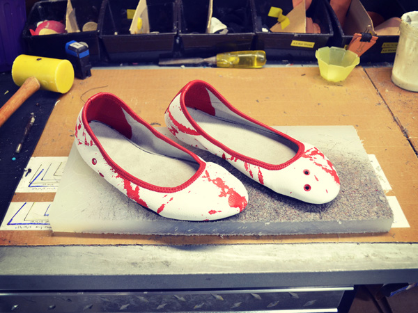 True Blood Fan Shoes - Not for the Fainthearted!