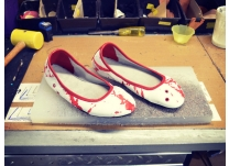 True Blood Fan Shoes... Not for the Fainthearted!