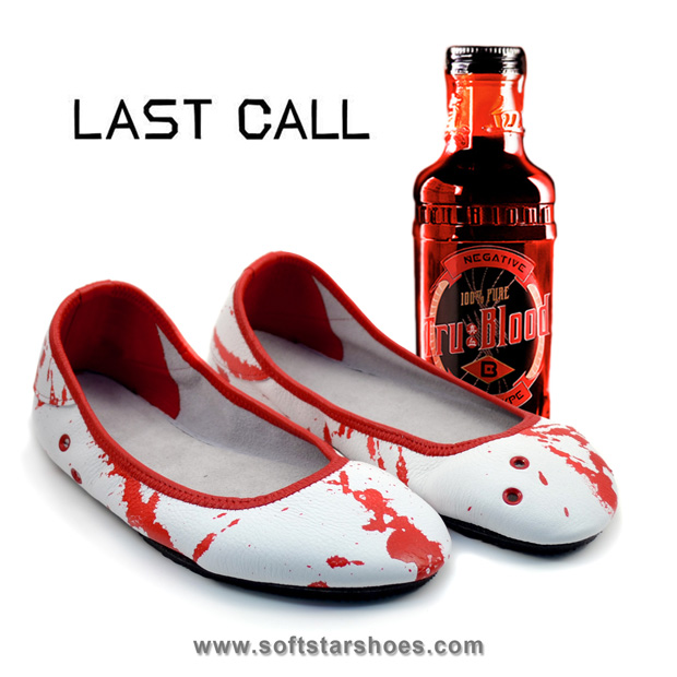 Last Call! True Blood Fan Shoes