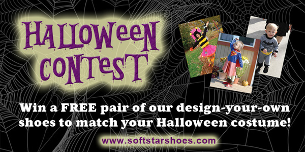 Soft Star Shoes HALLOWEEN CONTEST: Win Handmade Shoes to Match Your Costume!