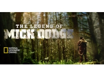 """Boss of the Moss"" Mick Dodge Wears Soft Star Shoes on National Geographic Series"