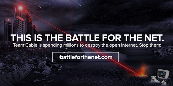 BATTLE FOR THE INTERNET: Help Small Businesses by Speaking Up for Net Neutrality