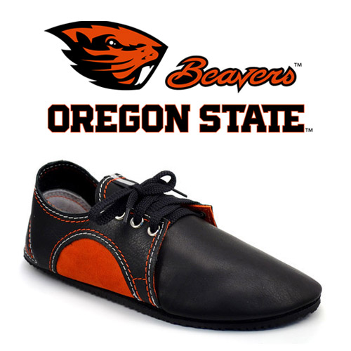 Team Colors! Double-Stitched OSU Beaver Shoes