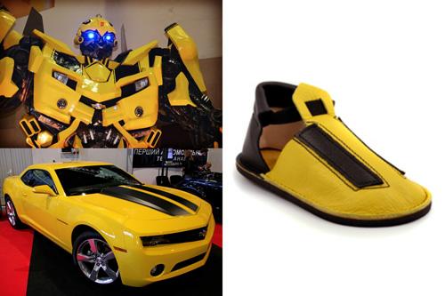 More Than Meets the Eye: Tim's Handmade Transformers Shoes