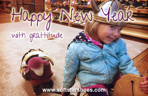 Happy New Year with Gratitude