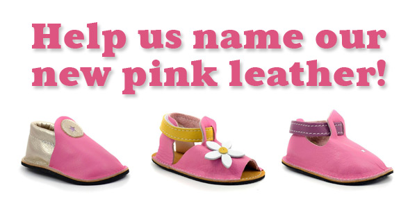 Help Us Name Our New Pink Leather