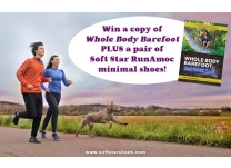 Transitioning to Barefoot Health PLUS RunAmoc Giveaway!