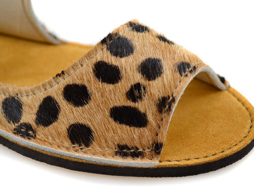 "Introducing ""Ponyhair"" Cheetah Print Sandals"