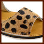 "Introducing ""Ponyhair"" Cheetah Print Sandals"