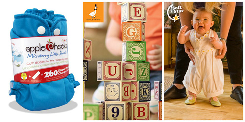 GIVEAWAY: Diapers, Blocks and Shoes, Oh My! Enter to Win Our New Baby Prize Package