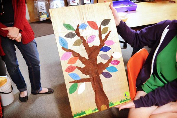 Soft Star Playday - Handmade Leather Tree