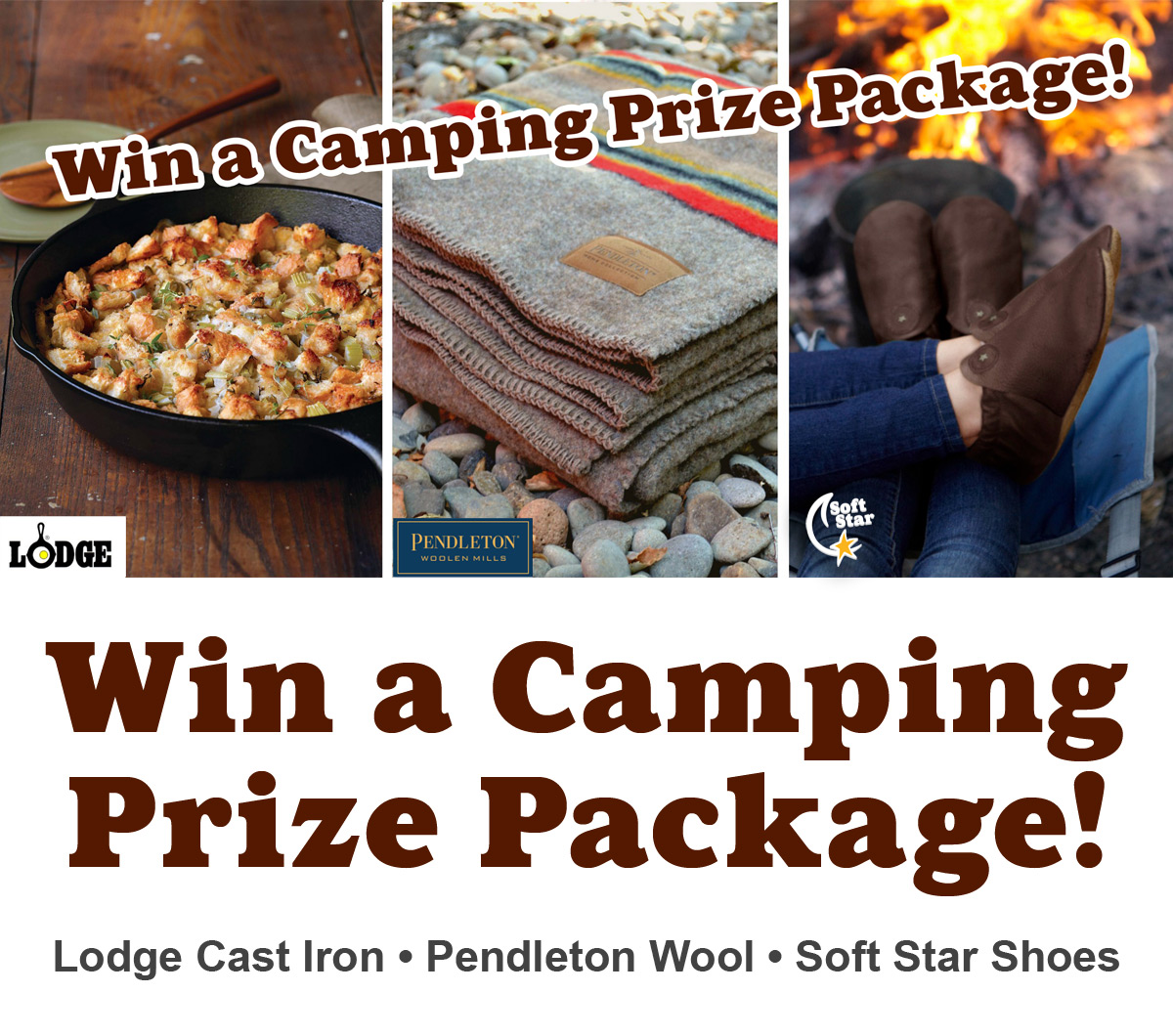 Made-in-USA Camping Giveaway