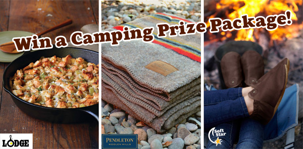 Great Outdoors GIVEAWAY! Enter to Win a Camping Prize Pack