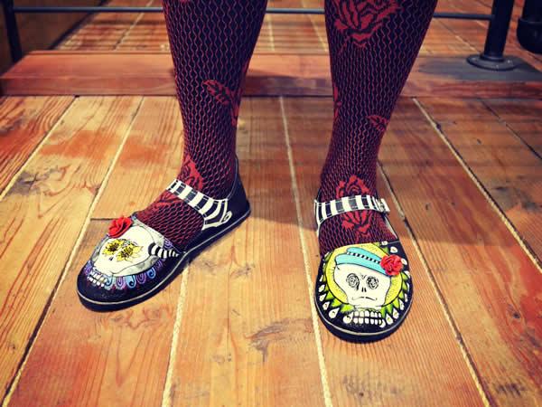 Día de Muertos Shoes