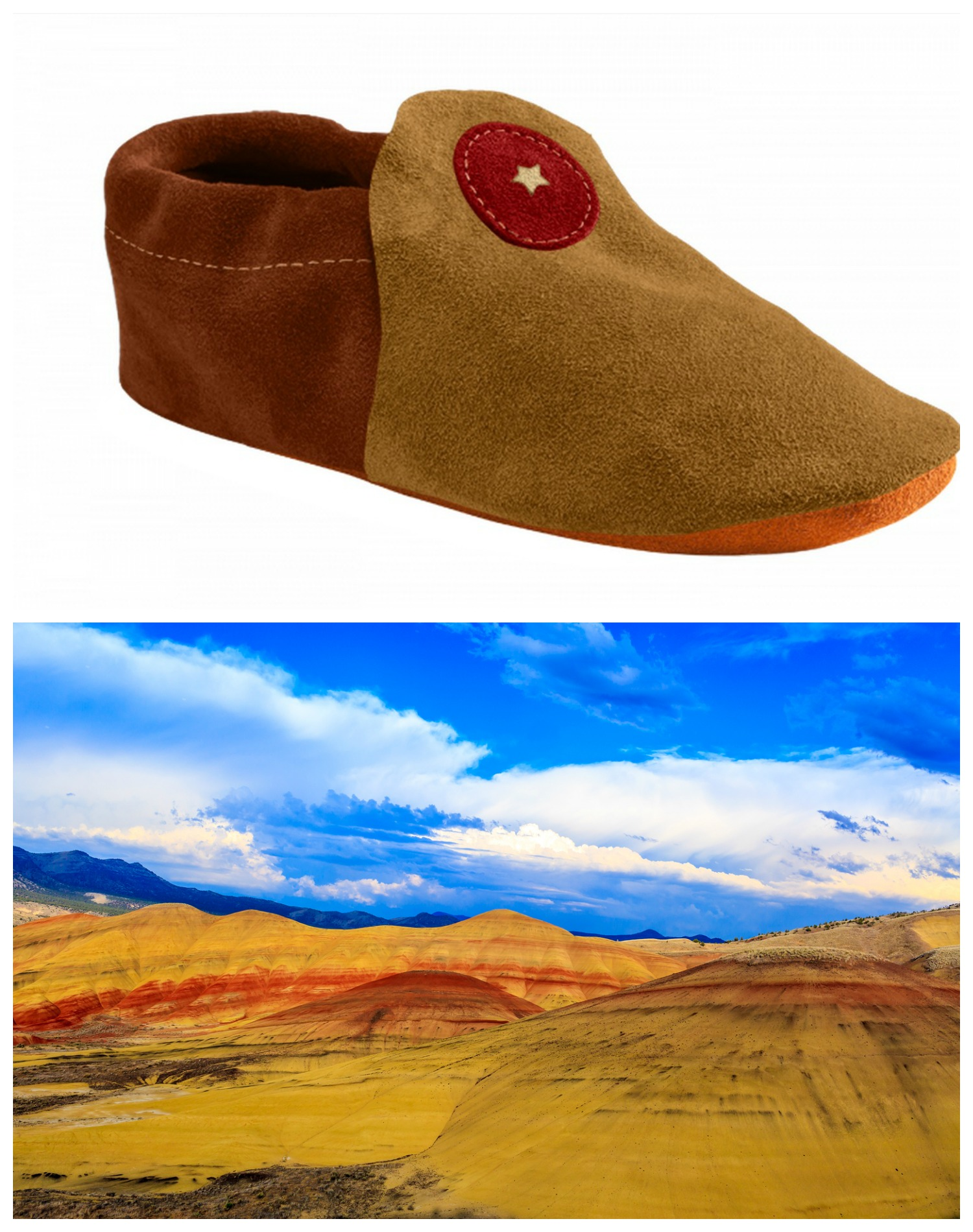 John Day Fossil Beds-Inspired Moccasin