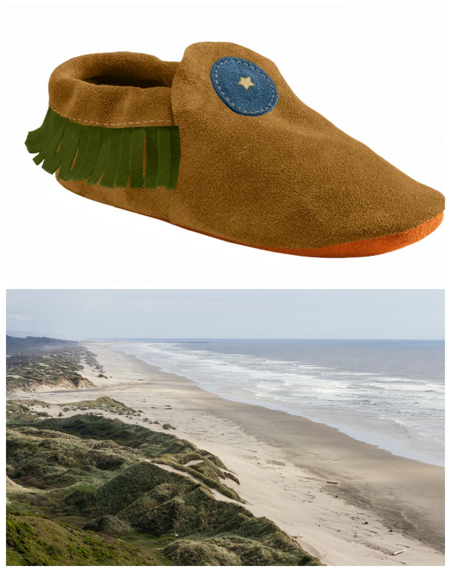 Oregon Dunes-Inspired Moccasin