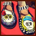 Shoes of the Dead! Celebrating Día de los Muertos in Style