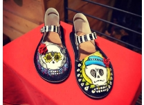 Shoes of the Dead! Celebrating Día de los Muertos in Style