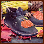 Pumpkin Shoes for Harvest Season