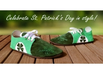 Celebrate St. Patrick's Day with Handcrafted Shamrock Shoes!