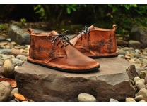 WIN Hand-Tooled Leather Chukkas for Father's Day!