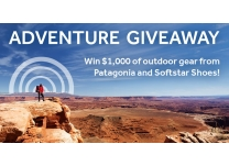 Adventure GIVEAWAY: Win $1,000 of Outdoor Gear from Patagonia and Softstar!